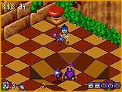 Sonic 3D is an example from the Sega Genesis of a isometric 3D game.